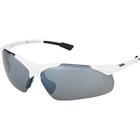 UVEX Sportstyle 223 Brille white/silver